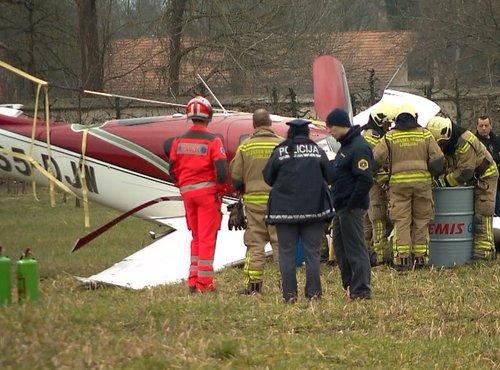 Letalo zasilno pristalo - 4