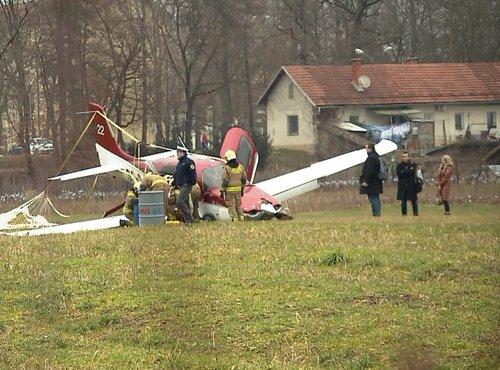 Letalo zasilno pristalo - 5