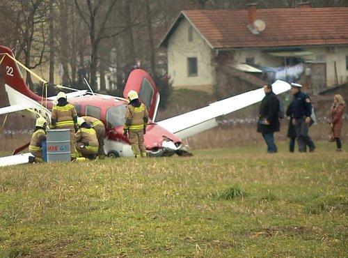 Letalo zasilno pristalo - 6