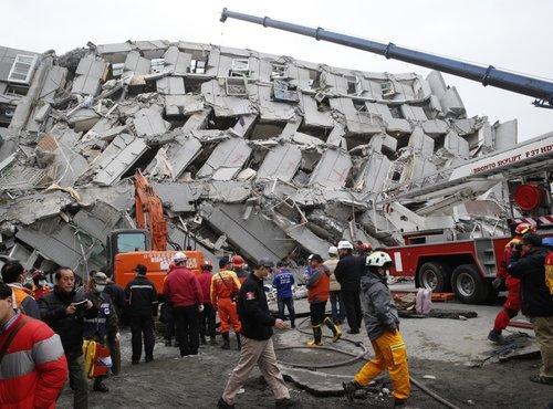 Potres Tajvan - 2