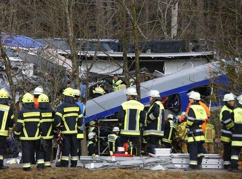 Na Bavarskem trčila vlaka - 2
