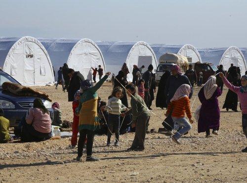 Begunsko taborišče na sirsko-turški meji