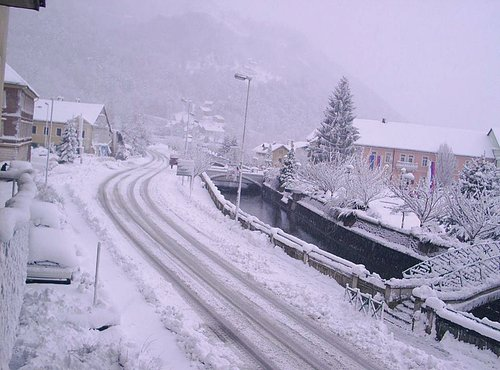 Sneg v Radečah