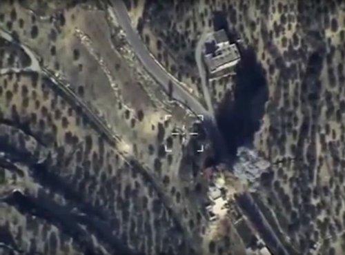 zračni posnetek province Idlib