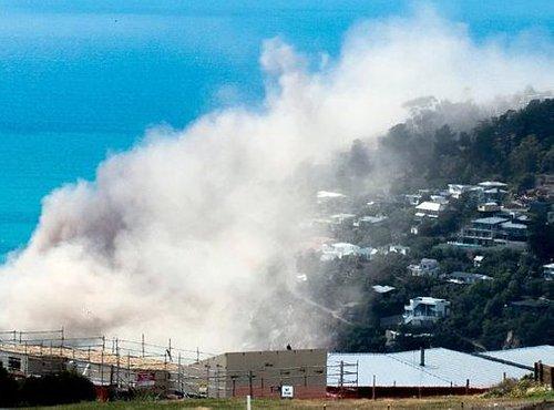 Zaradi potresa v Novi Zelandiji so se odlomili klifi