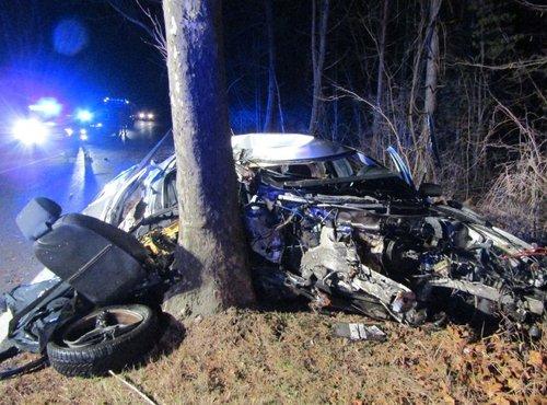 Prometna nesreča na cesti Markovščina–Materija