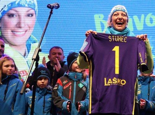 Ilka Štuhec sprejem v Mariboru - 9