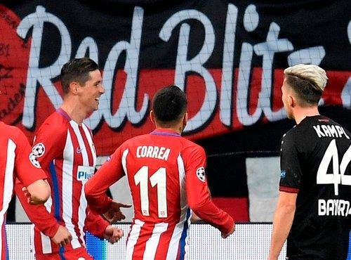 Bayer Leverkusen - Atletico Madrid - 3