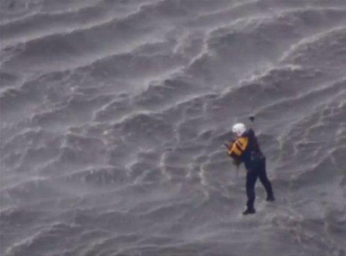 Reševanje psa iz vode