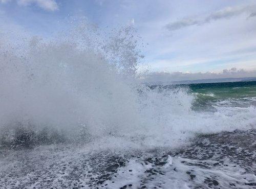 Valovi v Piranu - 1