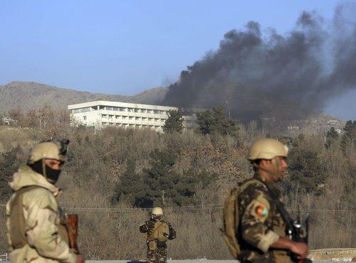 Napad na hotel v Kabulu