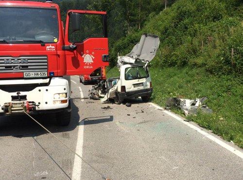 Prometna nesreča Idrija Godovič - 1