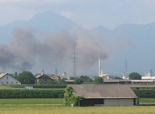 požar pri Kranju