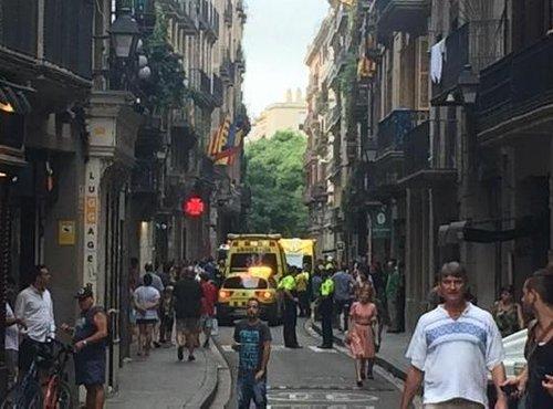 Streljanje v Barceloni