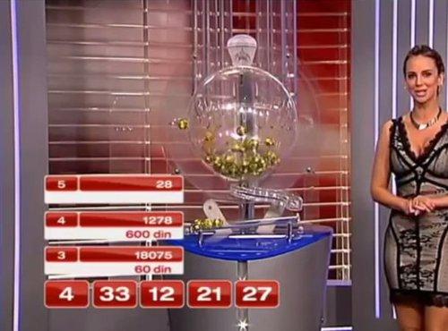 Žrebanje loto številk v Srbiji