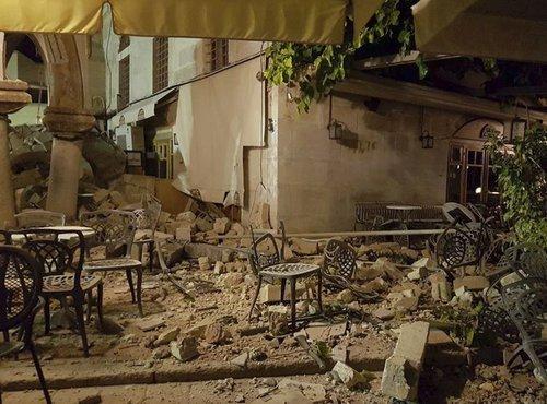 Potres v Grčiji