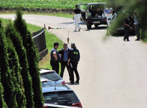 Prizorišče umora 30-letnega policista - 5