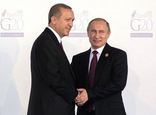 Erdogan in Putin