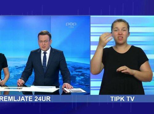 24UR V ZNAKOVNEM JEZIKU - Torek, 06.06.2017
