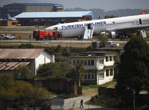 Nesreča turškega letala