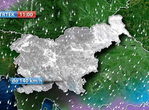 Burja na Primorskem
