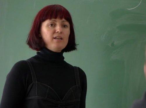 Učiteljica Bojana Potočnik