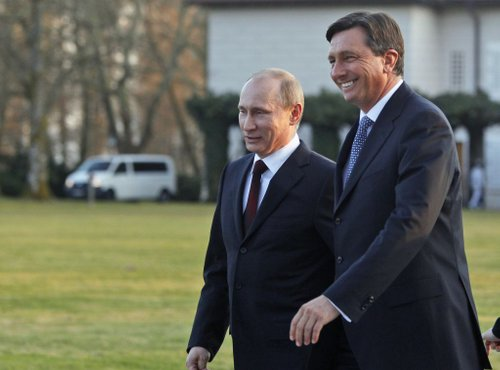 Putin in Pahor