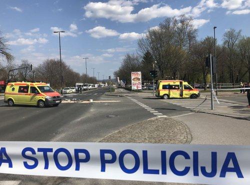 Nesreča v Ljubljani