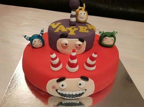 Oddbods torte - 5