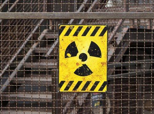 Znak za radioaktivno nevarnost