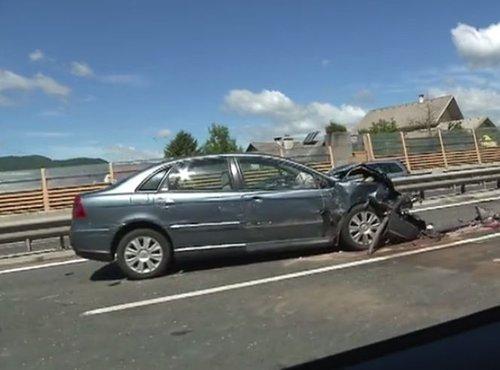 Prometna nesreča pri Vrhniki