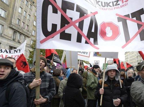 protest proti Ceti