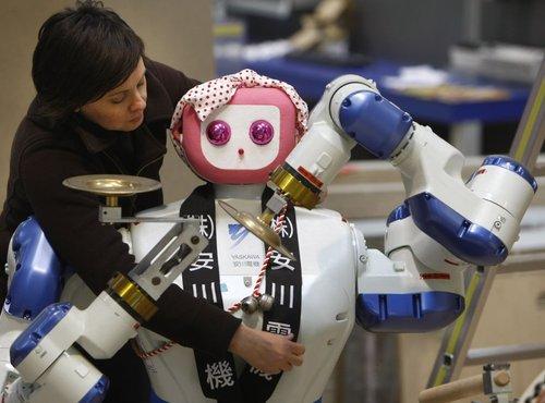 Yaskawa roboti
