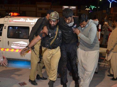 Napad na policijsko akademijo v Pakistanu - 1