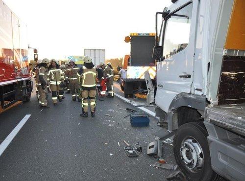 Prometna nesreča na avtocesti Maribor - Celje - 1