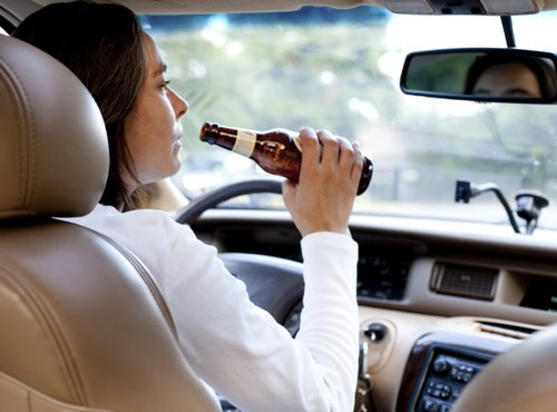 Pijana voznica