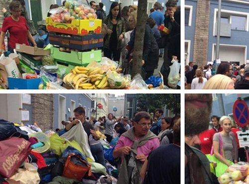 Na Dunaju priprave na prihod beguncev