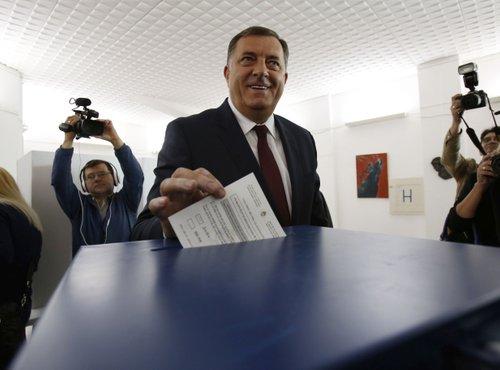 Dodik na volišču