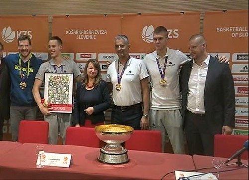 Nagrada za zlate košarkarje