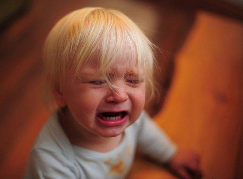 Žalosten otrok