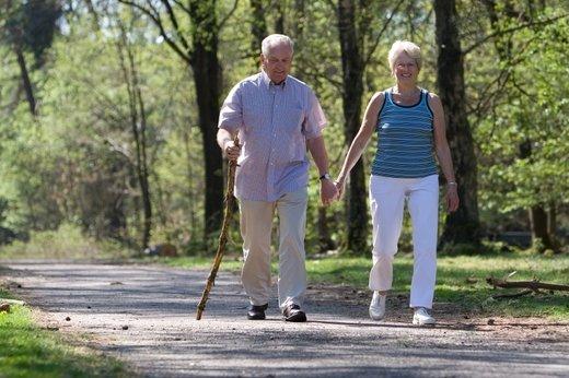 Sprehajanje je primerno za vse generacije