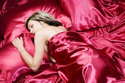Spanec v svileni odeji...