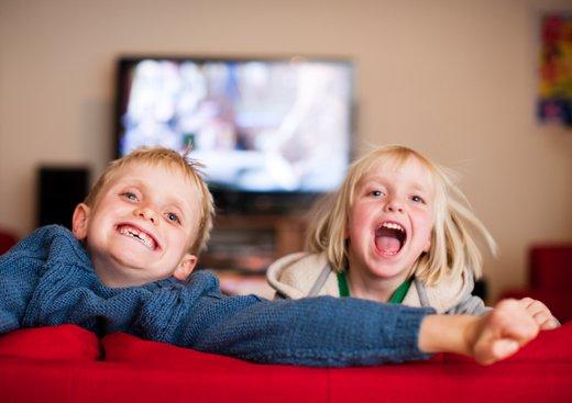 Otroci in televizija