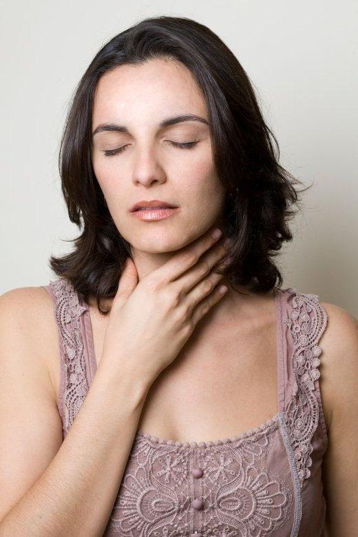 Bolečina v grlu