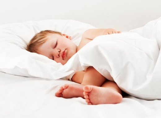 Otrok spi