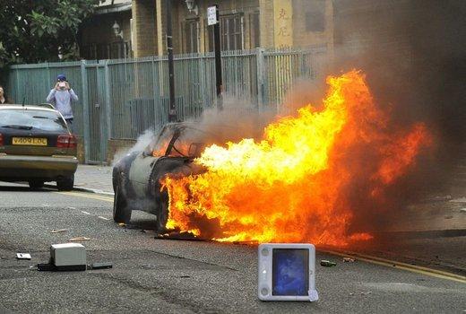 Nasilje v Londonu