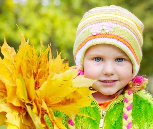 Otrok jeseni