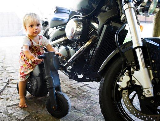 Mala motoristka
