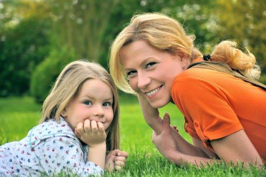 Mama in hčerka