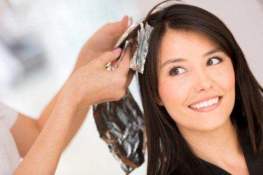 Barvanje las